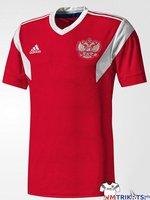 Das neue Russland WM Trikot von adidas in rot als Heimtrikot